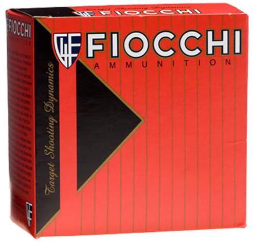"Fiocchi 8 Target Shotshell Loads 12ga, 2.75"", 1oz, 8 Shot, 25rd/Box"
