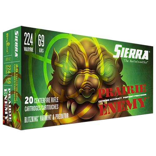 Sierra GameChanger 224 Valkyrie 69gr, Sierra BlitzKing, 20rd Box