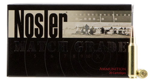 Nosler Match Grade RDF 22 Nosler 85gr, Hollow Point Boat Tail, 20rd Box