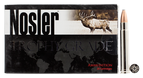 Nosler Trophy Grade 416 Remington Magnum 400gr, Partition, 20rd Box