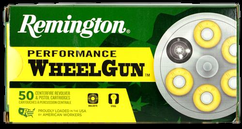 Remington Performance WheelGun 38 S&W 146gr, Lead Round Nose, 50rd Box