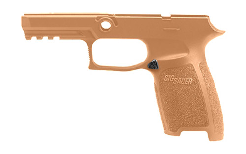 Sig Grip Module Assembly P320, 9/40/357, Carry, Medium, Coyote 9mm