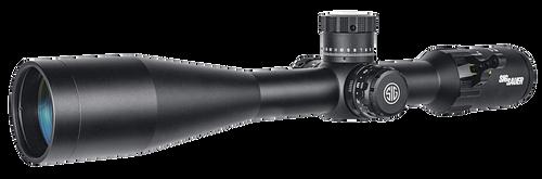 Sig Tango4 6-24x 50mm Obj 14.70-3.70 ft @ 100 yds FOV 30mm Tube Black Illuminated MOA DEV-L (FFP)