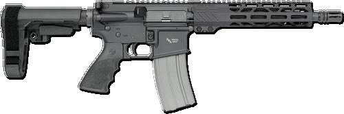 """Rock River Arms LAR-15 A4 Pistol 223 Rem,5.56 NATO 10.5"""" Barrel Black Hogue Rubber SB Tactical Arm Brace"""