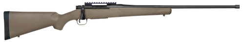 "Mossberg Patriot, Predator, Bolt Action, 6.5 PRC, 24"" Fluted Threaded Barrel, Flat Dark Earth, Adj Trigger, Picatinny, Oversized Handle, Box Magazine, 5rd"