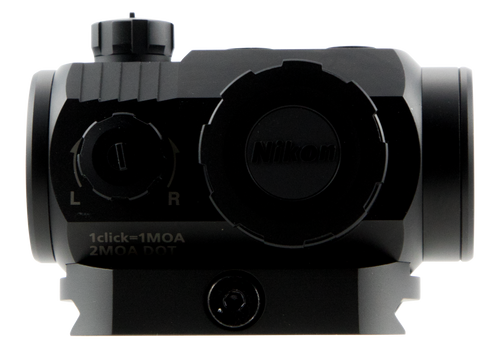 Nikon P-Tactical SuperDot 1x 22mm Obj 2 MOA Black Matte CR2032 (1)