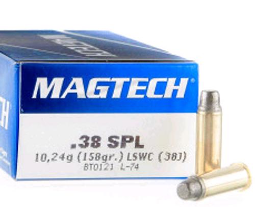 Magtech 38 Special 158gr, LSWC, 1000rd Case