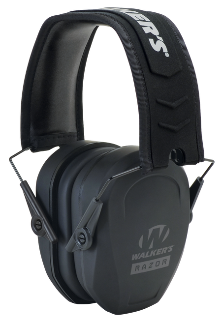 Walkers Game Ear Razor Slim Passive Earmuff 27 dB Black