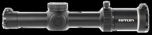 Riton Optics, X3 TACTIX, Rifle Scope, 1-8X24mm, 30mmTube, OT Illuminated Reticle, 2nd Focal Plane, Black Color