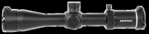 Riton Optics X3 Conquer 3-15x 44mm Obj 38.30-7.60 ft @ 100 yds FOV 30mm Tube Black PDTR