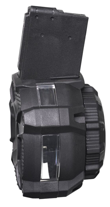 ProMag AR-15 Drum Mag 223 Rem-5.56mm, Windowed, 65rd Drum with Window