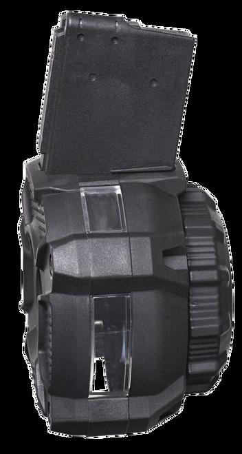 ProMag AR-15 Drum Mag 223 Rem-5.56mm, Windowed, 65rd Drum with Window