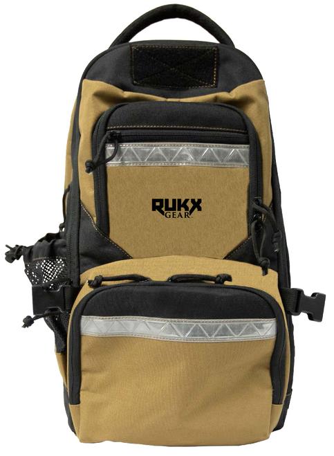 "Rukx Gear Survivor 20"" x 11"" x 10"" Tan"