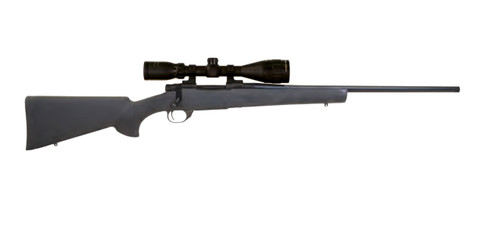 "Howa Hogue Gamepro 2 300 PRC, 24"" Threaded Barrel, Black Hogue Pillar-Bedded Overmold Stock Blued, 3rd"