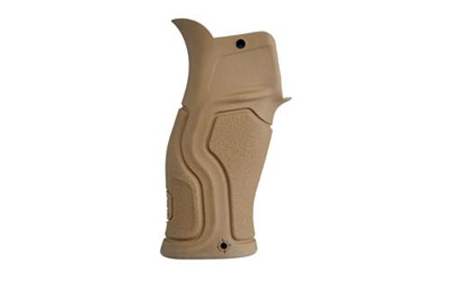 FAB Defense Gradus with Beavertail Pistol Grip AR-15, Polymer/Rubber Flat Dark Earth