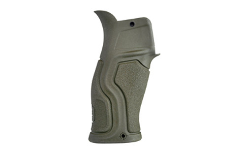 FAB Defense Gradus with Beavertail Pistol Grip AR-15 Polymer/Rubber Olive Drab Green