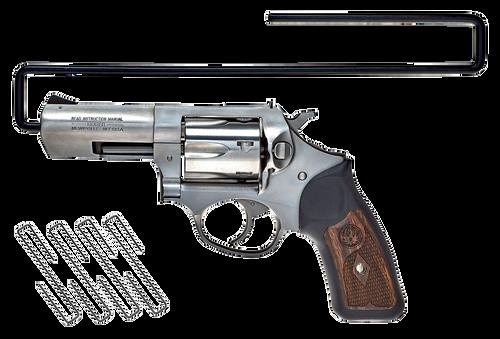 SnapSafe Handgun Hanger 22 Cal Steel Black 4 Pack