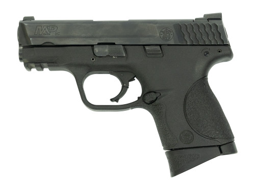 "Smith & Wesson M&P Compact 9mm, Trade-In, 3.5"" Barrel, 3-Dot Sights, Black, 2x 12rd"