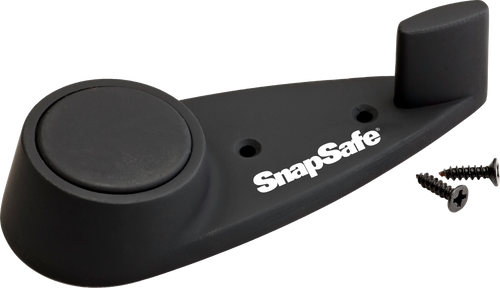 SnapSafe Magnetic Gun Holder Gun Hanger Polymer Black