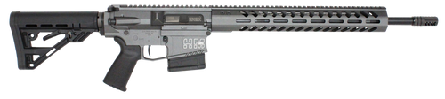 "HM DEFENSE Avenger M308 308 Win/7.62 NATO 18.00"" Barrel, Black Hardcoat Anodized Black Mil-Spec HM Stock 10rd Mag"