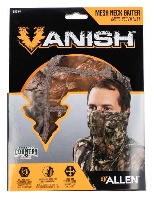 Allen Vanish Neck Gaiter Mossy Oak Break-Up Country