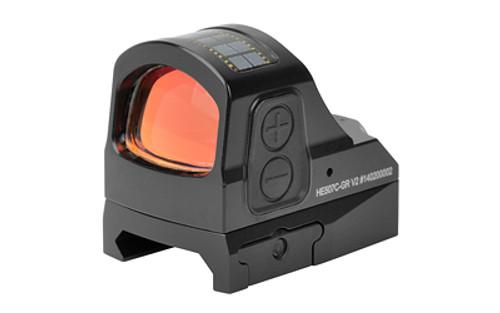 Holosun Technologies 507C Green Dot 2 MOA, 32 MOA Ring, Multi-Reticle, Black, V2 Optics, Shake Awake, Solar Failsafe, Picatinny Rail