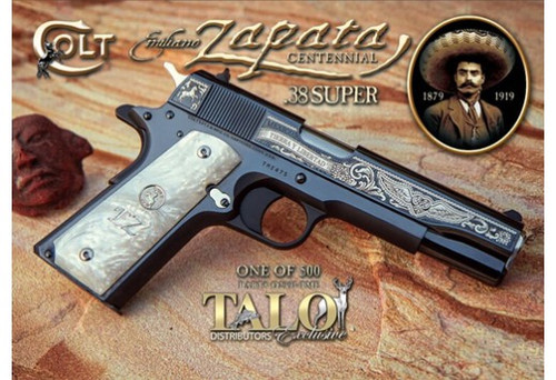 "Colt 1911 Emiliano Special .38 Super 5"" Barrel 1 of 500 Limited TALO Edition"