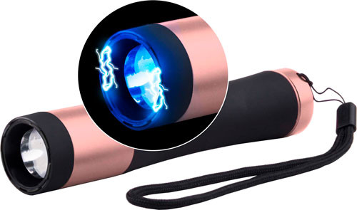 Skyline Guard Dog Ivy Light and Stun Gun 200 Lumens Cree LED Aluminum Black/Pink