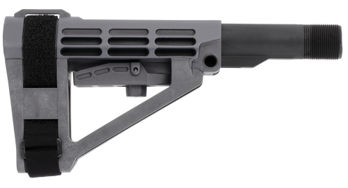 SB Tactical SBA4 AR Carbine Extension, 5-Position Gray