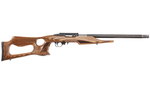 "Thompson Center T/CR22 22LR, 20"" Threaded Carbon Fiber Barrel, Brown Altamont Thumbhole Stock, 10rd"