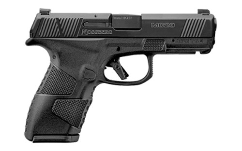 """Mossberg MC-2 Compact 9mm, 4"""" Barrel, Black, Non-Manual Safety, Night Sights, Flat Profile Trigger, 13rd-15rd Mags"""