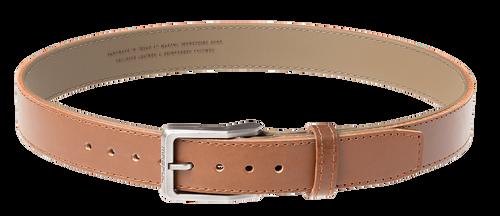 "Magpul Tejas Gun Belt, El Original, 1.5"" Width, Bullhide Leather Exterior With Reinforced Polymer Interior Size 36"", Light Brown Finish"