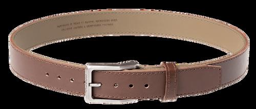 "Magpul Tejas Gun Belt, El Original, 1.5"" Width, Bullhide Leather Exterior With Reinforced Polymer Interior Size 42"", Chocolate Finish"