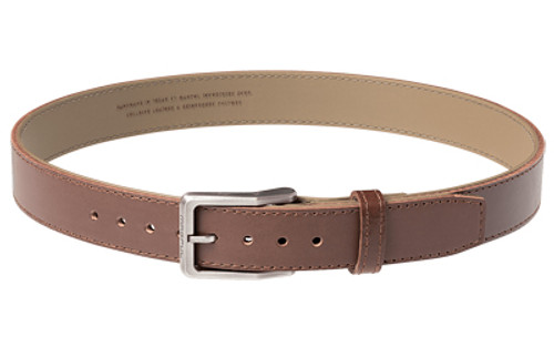 "Magpul Tejas Gun Belt, El Original, 1.5"" Width, Bullhide Leather Exterior With Reinforced Polymer Interior Size 36"", Chocolate Finish"