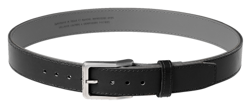 "Magpul Tejas Gun Belt, El Original, 1.5"" Width, Bullhide Leather Exterior With Reinforced Polymer Interior Size 38"", Black"
