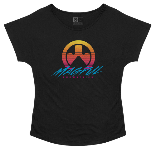 Magpul Brenten, Women's Dolman T-Shirt, XLarge, Black