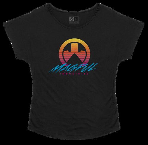 Magpul Brenten, Women's Dolman T-Shirt, Medium, Black