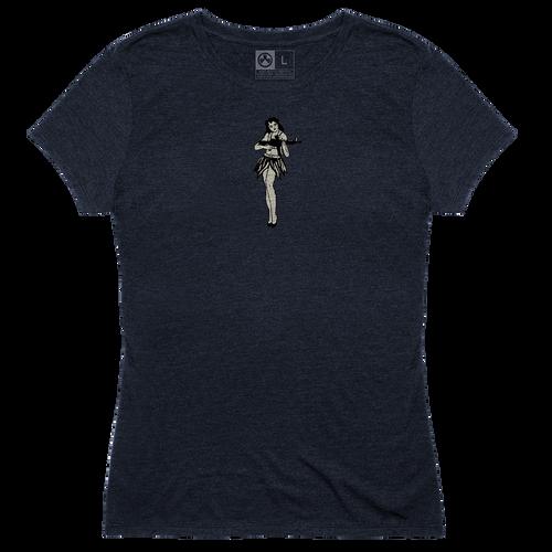 Magpul Hula Girl, Women's T-Shirt, XLarge, Navy