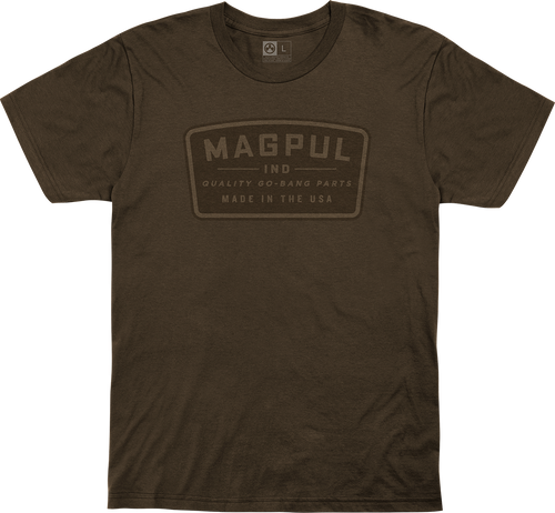 Magpul Fine Cotton Go Bang Shirt XL Brown