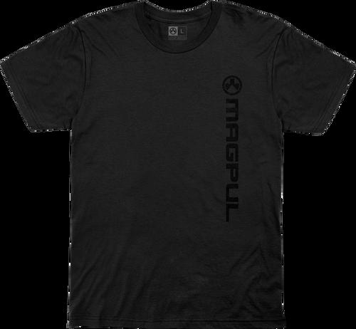 Magpul Fine Cotton Vert Logo Shirt Small Black