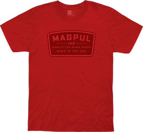 Magpul Fine Cotton Go Bang Shirt Large Red