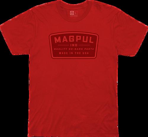 Magpul Fine Cotton Go Bang Shirt Medium Red