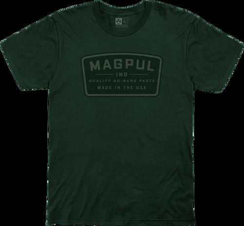 Magpul Fine Cotton Go Bang Shirt XL Forest Green