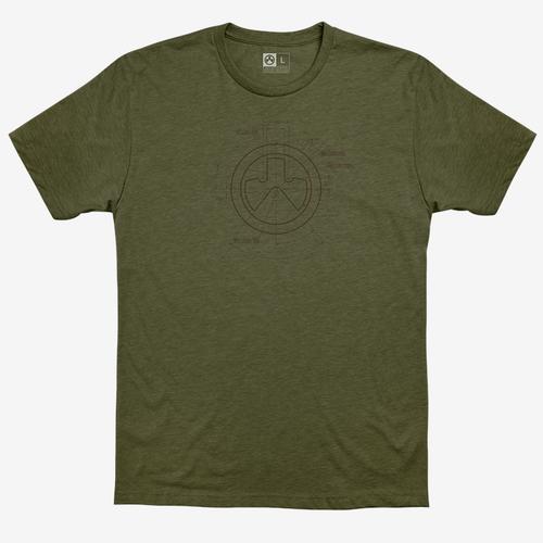 Magpul Megablend Engineered Shirt Small Olive Drab