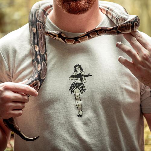Magpul Megablend Hula Girl Shirt XXXL Stone Gray