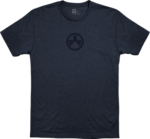 Magpul Icon Logo, T-Shirt, XXLarge, Navy Heather