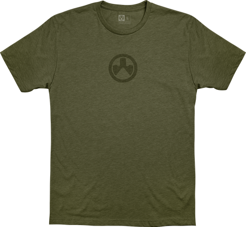 Magpul Icon Logo, T-Shirt, XLarge, Olive Drab Heather