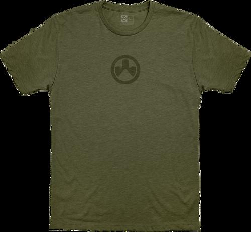 Magpul Icon Logo, T-Shirt, XXLarge, Olive Drab Heather