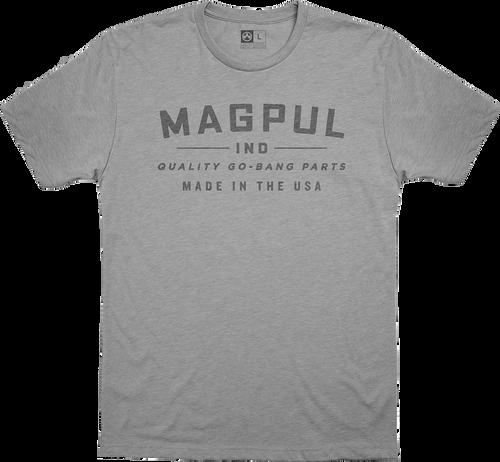 Magpul Go Bang Parts, T-Shirt, Large, Athletic Heather
