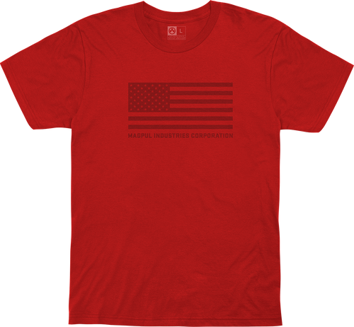 Magpul Fine Cotton Standard Shirt Small Red